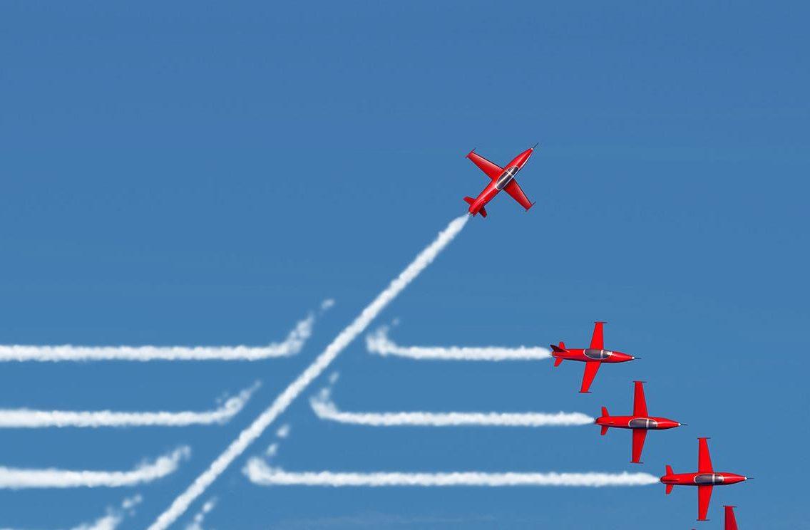Artikel voor CGI over disruptie | Op weg naar de slagvaardigheid van een startup