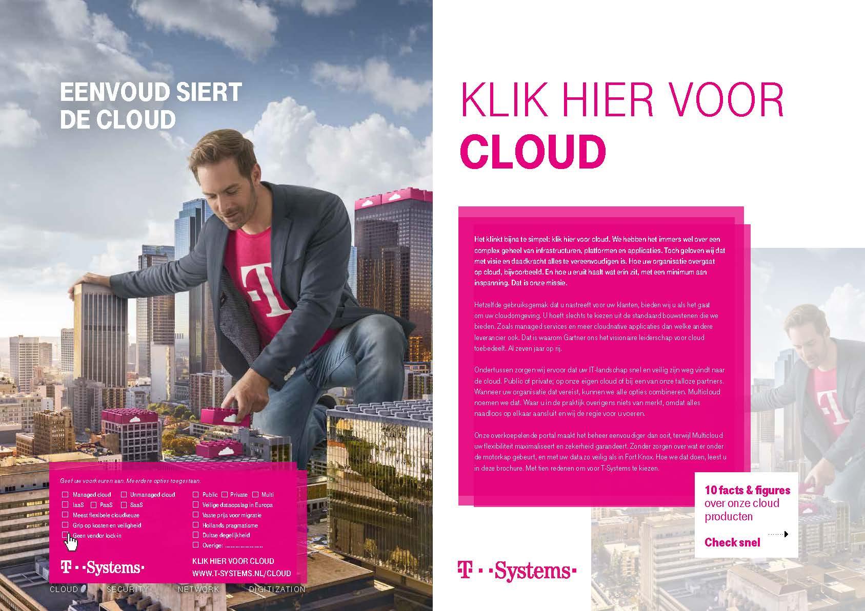 Klik hier voor cloud T-Systems folder omslag